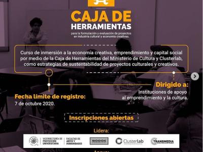 CAJA DE HERRAMIENTAS PARA ECONOMÍA NARANJA
