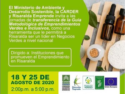 Transferencia de la guía metodológica de emprendimientos verdes e inclusivos